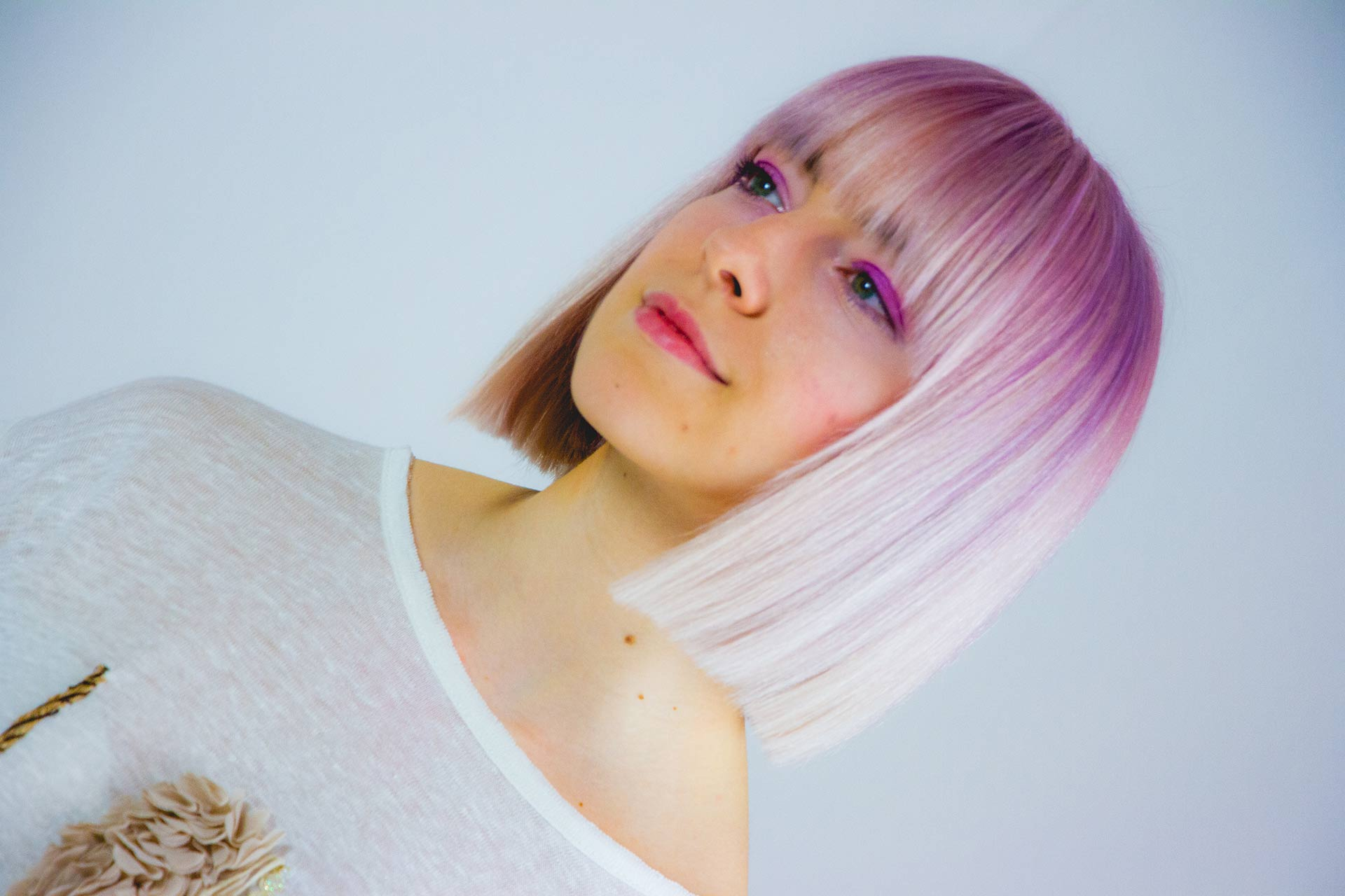 Capelli viola, Shooting Pastel | Danys Fashion Carpi