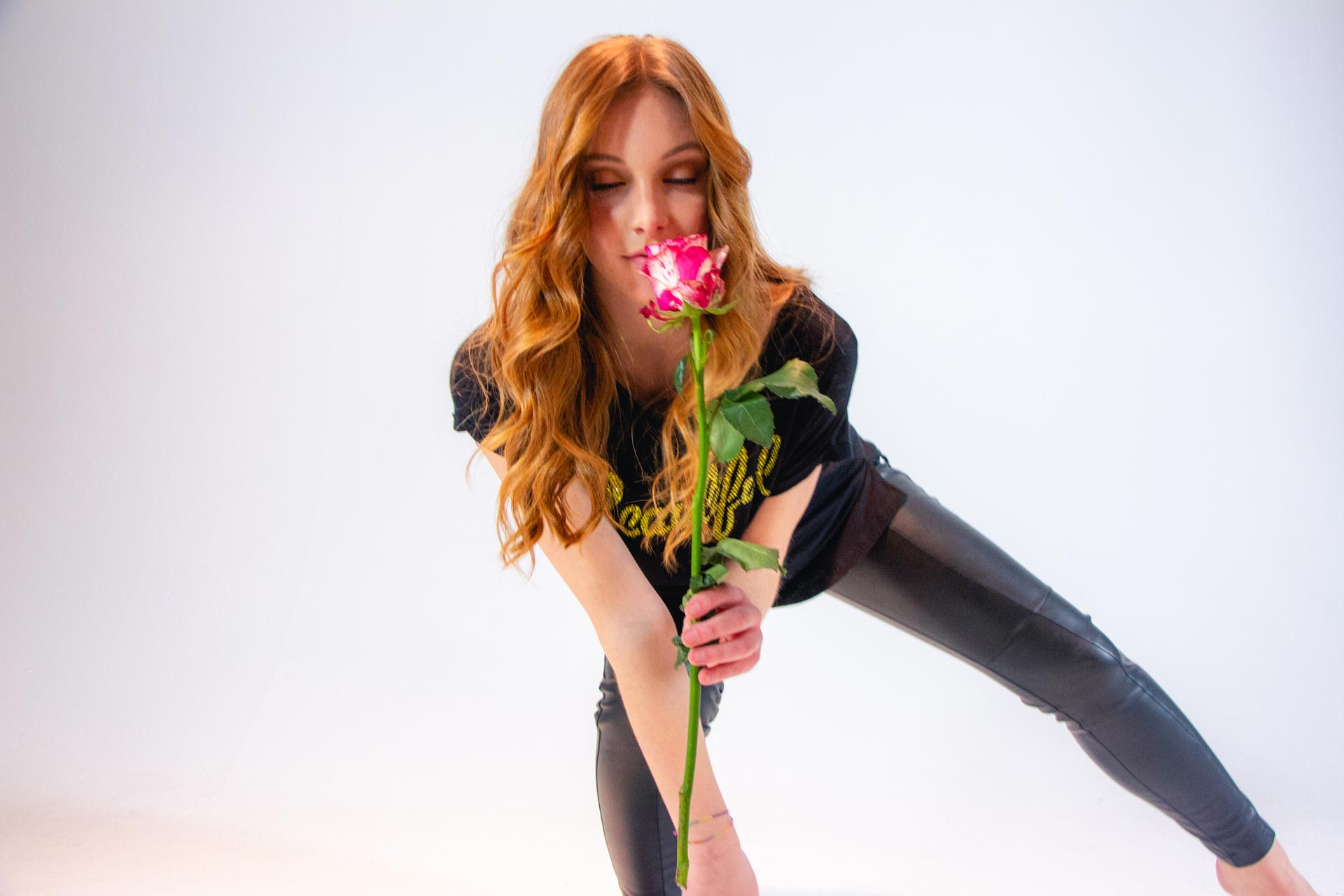 Colorazione corallo | Shooting Flower | Danys Fashion Carpi